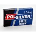 Scheermesjes Polsilver Super Iridium 5 stuks